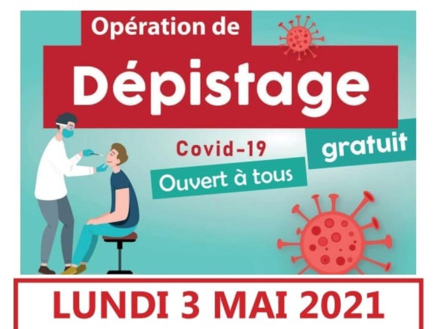 Des dépistages gratuits à Corcieux lundi 3 mai