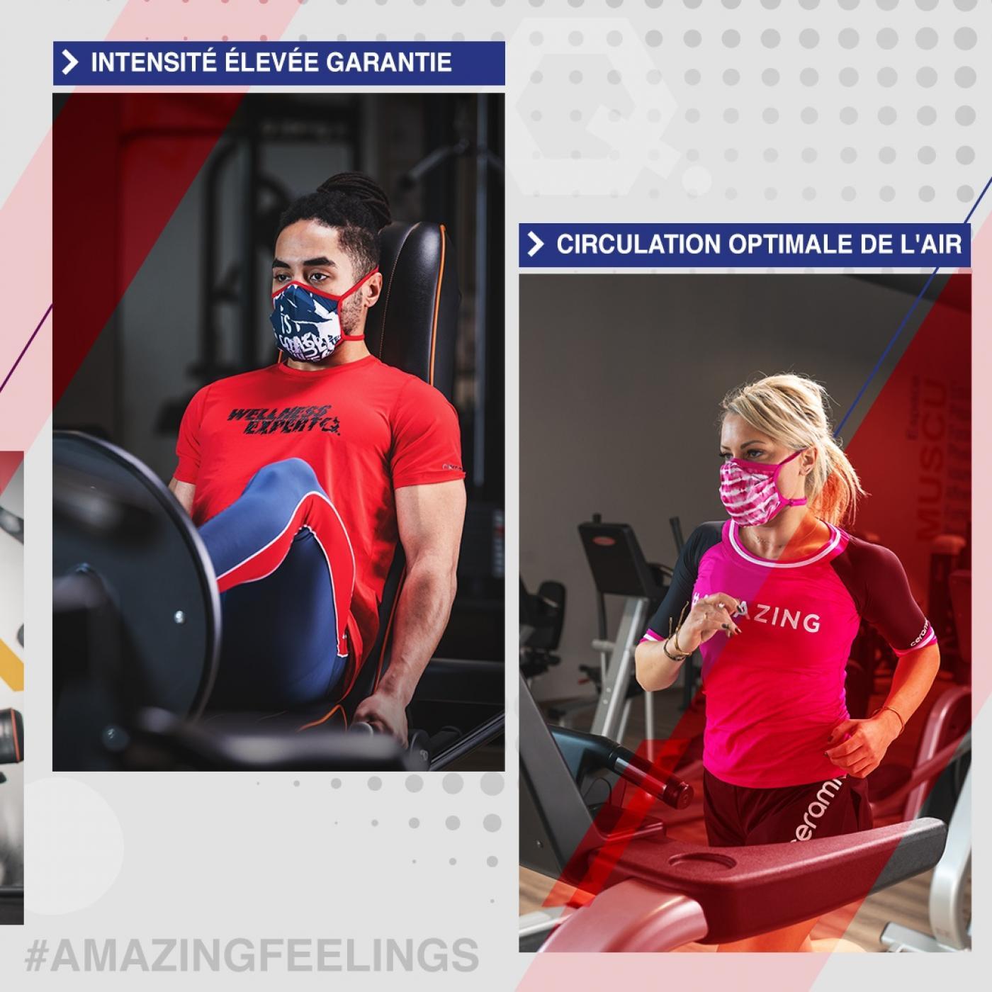 Vosges : Les masques sportifs sont prêts