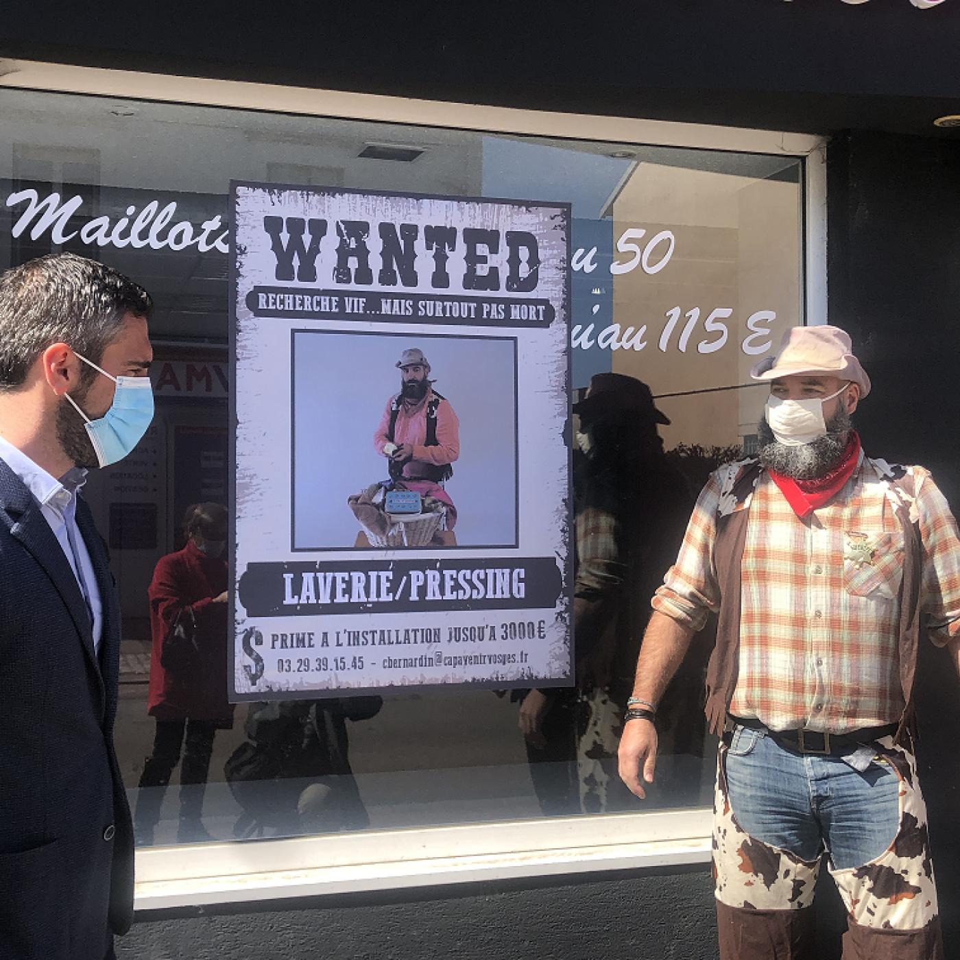 Thaon-les-Vosges : Un shérif à la rescousse des commerces