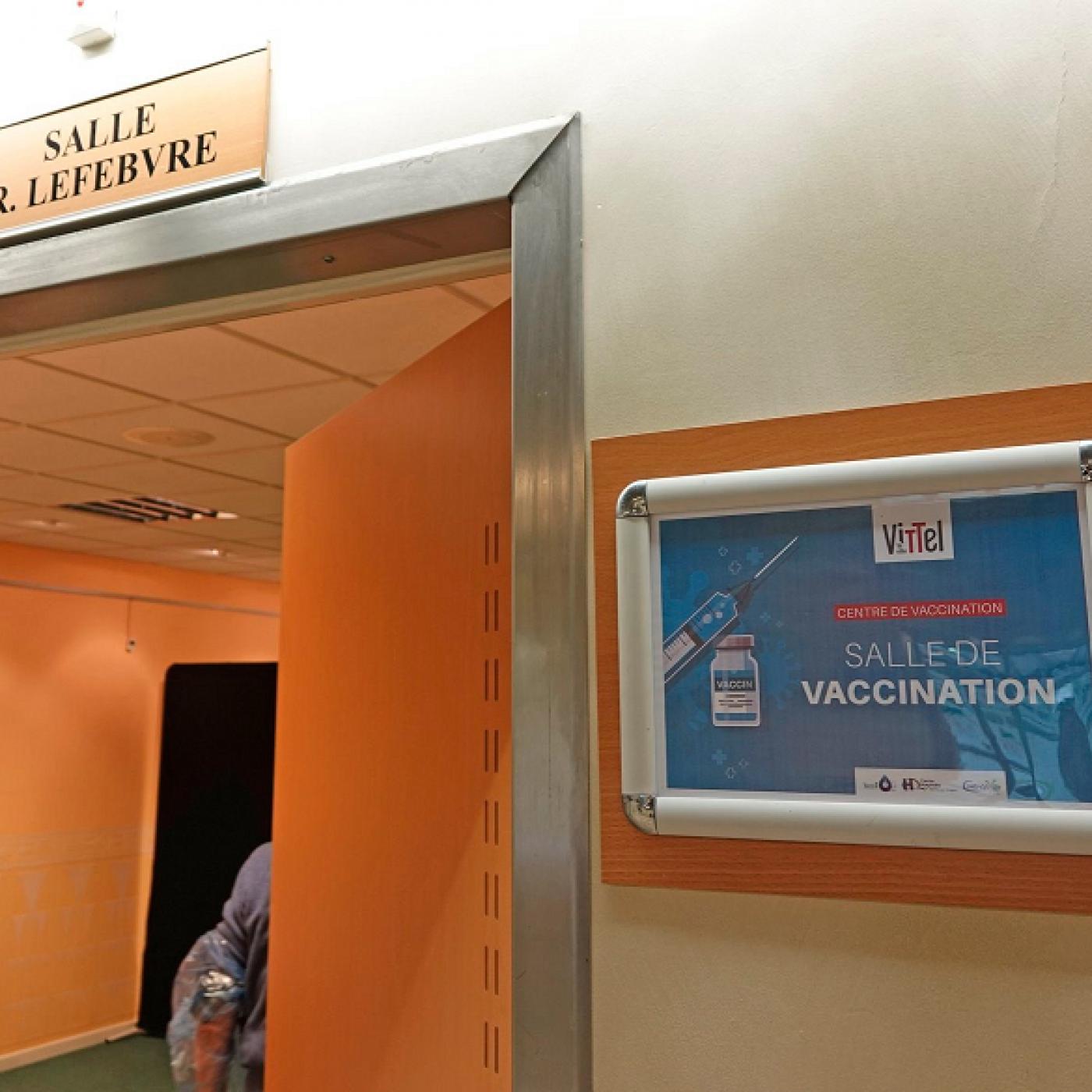 Doses perdues dans les centres de vaccination ? A Vittel, ce n'est pas le cas.
