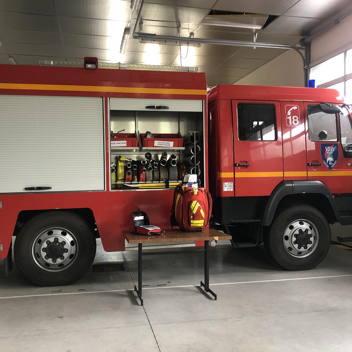 Pompiers des Vosges : un appel aux volontaires qui devient urgent